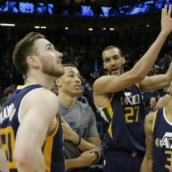 Hayward, Gobert have Jazz playing a winning tune