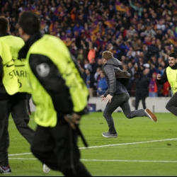 UEFA fines Barcelona for fans celebrating 6-1 win on pitch