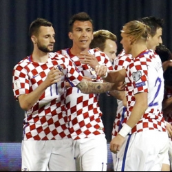 Croatia tops table with 1-0 win over Ukraine, Iceland 2nd