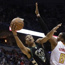 Bucks now tied for fifth in East after grounding Hawks