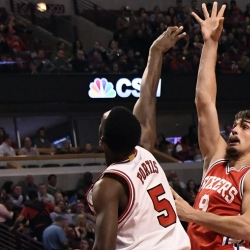 Saric's career-high carries Sixers past Bulls