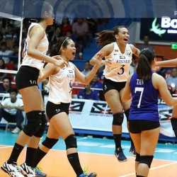 Lady Eagles gun to secure Final Four twice-to-beat playoff