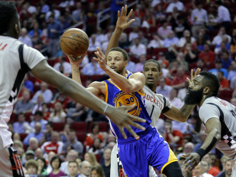 Golden State Warriors vs. Houston Rockets - 3/31/17 NBA Pick, Odds, and Prediction