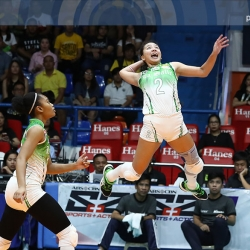 Lady Spikers clinch Final Four twice-to-beat advantage