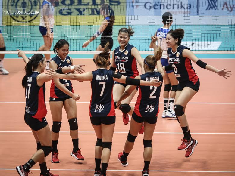 Petron strikes back, Japanese guest team sweeps Cignal