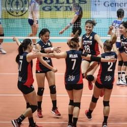 Petron strikes back, Japanese guest team sweeps Cignal