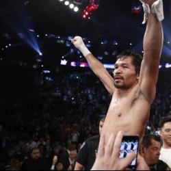 Manny Pacquiao pumirma na para labanan si Jeff Horn sa July