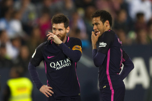 Neymar out of Barcelona's El Clasico clash with Real Madrid