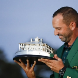 Inspired by Seve, Garcia joins Spain's greatest generation