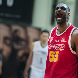 Howard towers above all to lift Singapore to Game 1 win