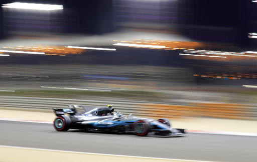 Bottas topples Hamilton for first career pole