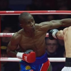 Indongo beats Burns to capture WBA super-lightweight title