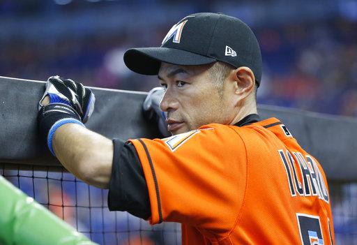 Marlins' Chen, Ziegler no-hitting Mariners through 8 innings