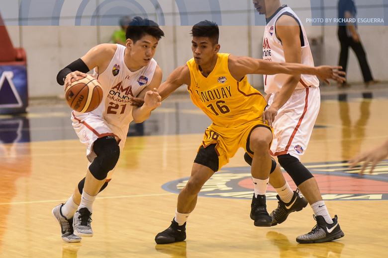 Teng re-unites with Altamirano for Flying V in PBA D-League