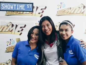 LOOK: PVL stars invade ABS-CBN