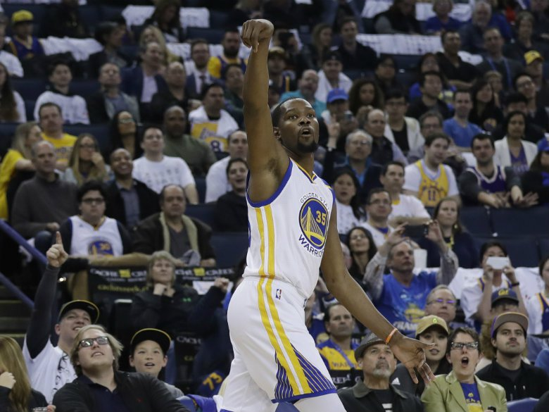 Golden State Warriors: Kevin Durant questionable for Game 2 with strained calf