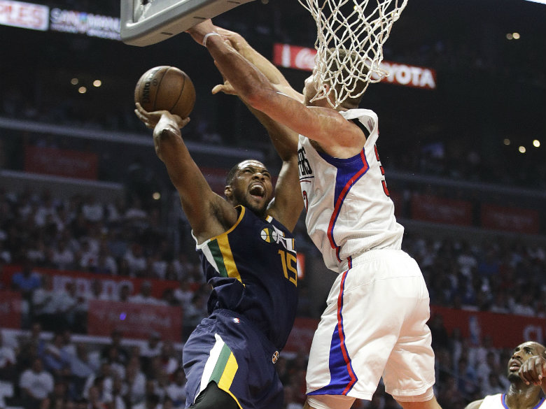 Jazz need a big Favors vs. Clippers' duo of Jordan and Blake