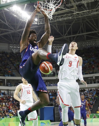 US men's basketball begins Olympic road in Uruguay