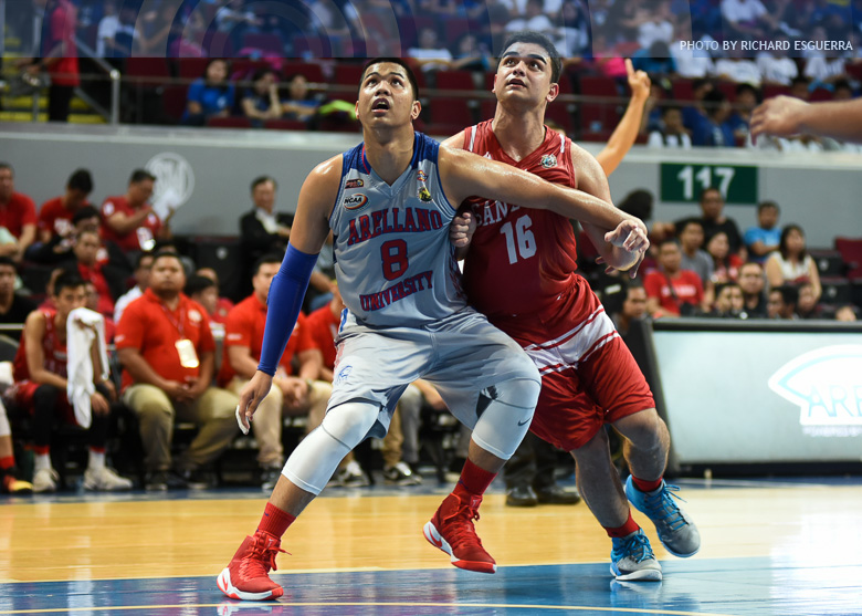 Former Arellano stalwart Abadeza crosses over to San Beda