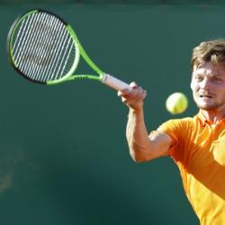 Goffin beats Djokovic to reach Monte Carlo semifinals