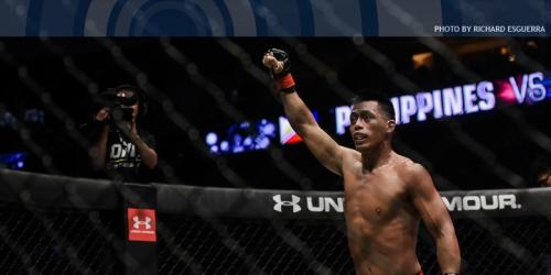 No, Honorio Banario won't fight Eduard Folayang