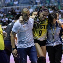 Cherry Rondina knew that EJ Laure wouldn't stay down