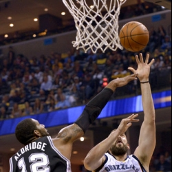 Tied at 2: Gasol lifts Grizzlies past Spurs 110-108 in OT | ABS-CBN Sports