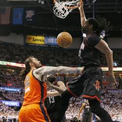 Nene's 28 lead Rockets past Thunder for 3-1 series lead