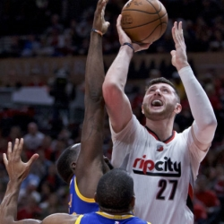 Nurkic won't play for Portland in Game 4 vs. the Warriors