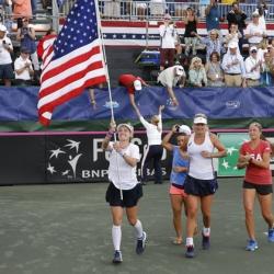 U.S. tops Czech Republic, advances to Fed Cup final
