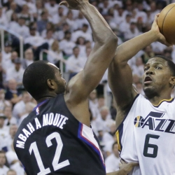 'Iso' Joe Johnson turns back clock for Utah Jazz