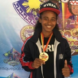 Beauty queen-athlete hopes Palaro helps her find dad