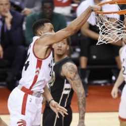 Powell's contributions help Raptors regain control vs. Bucks