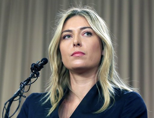 Maria Sharapova returns to Bouchard hate - and a win