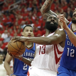 Harden's leadership fuels Rockets to West semis