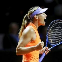 Sharapova reaches quarterfinals after 2nd win since return