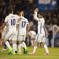 Isco and other reserves helping keep Madrid in contention