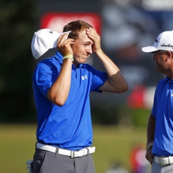 Spieth and Palmer share lead at team event in New Orleans