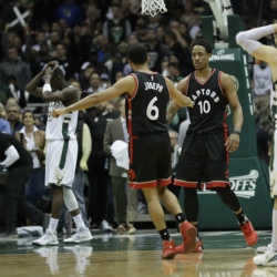 Tested again, resilient Raptors rest up for Cavs rematch