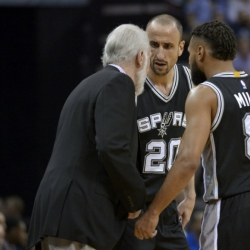 Spurs get much-needed time off before semifinal with Houston