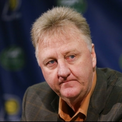 AP source: Larry Bird steps down as Pacers president