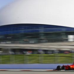 Vettel and Ferrari fastest in practice for Russian GP