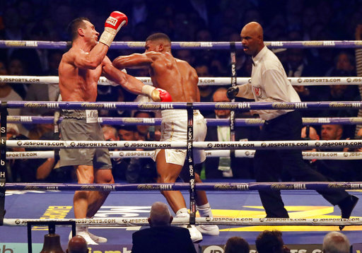 Joshua conquers Klitschko to retain the title