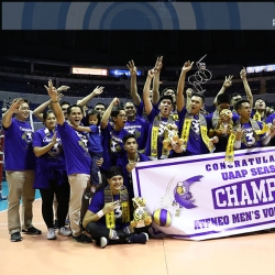 PERFECT SEASON: Blue Eagles earn title no. 3
