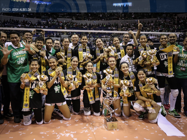 BACK-TO-BACK: Lady Spikers reign supreme