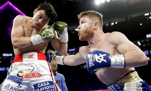 'Canelo' Alvarez dominates Chavez Jr., Golovkin next up