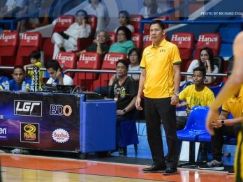 Dennison says FEU at 70 percent in adjusting to coach Olsen