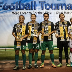 Lady Archers dominate women's football individual awards