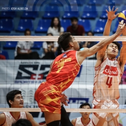 HD Spikers use team effort to seize share of first