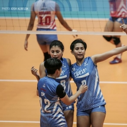 Lady Warriors win third straight at Cool Smashers' expense